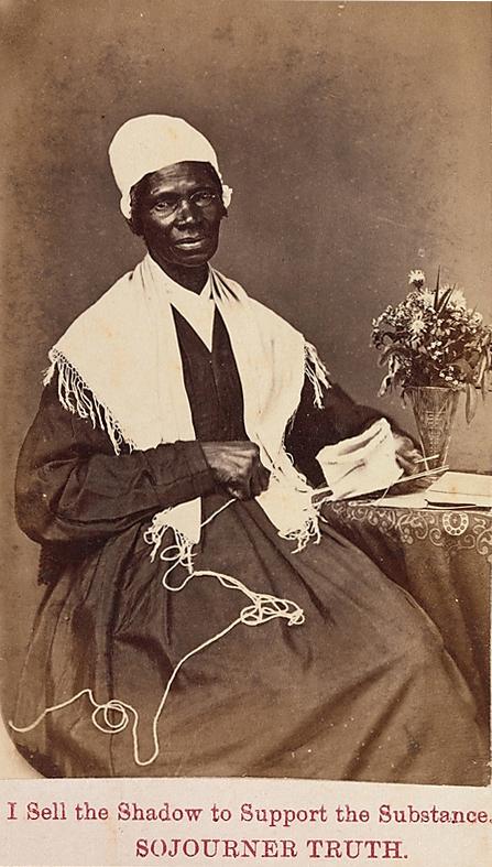 """""""Sojourner Truth"""", autor desconhecido, 1864."""