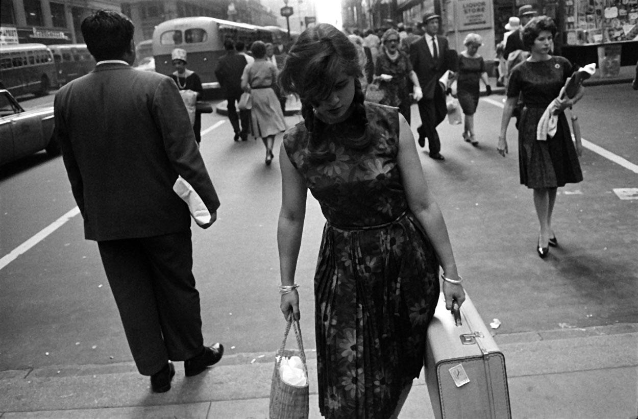 Nova York, c. 1960 - Coleção Center for Creative Photography, Universidade do Arizona