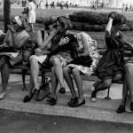 50 anos depois: retratadas por Garry Winogrand relembram o passado