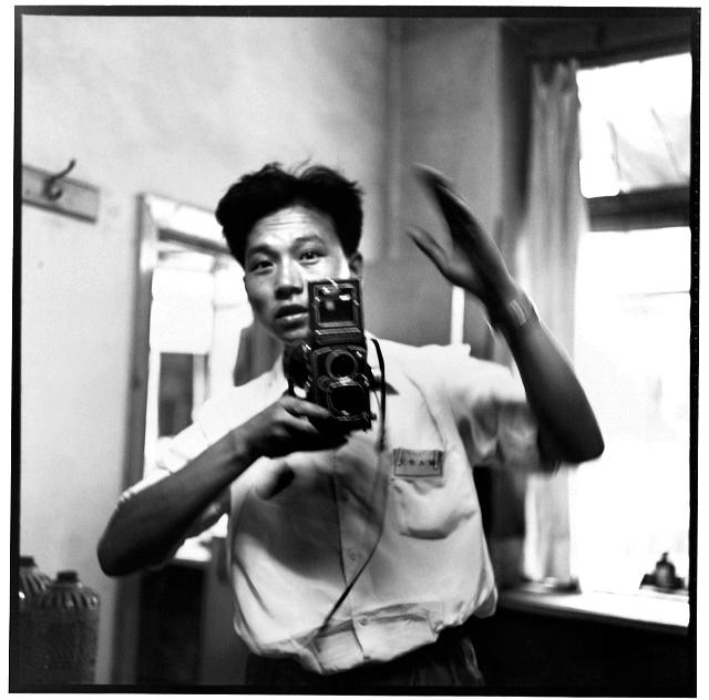 Auto-retrato. Harbin, província de Heilongjiang, 17 de julho de 1967