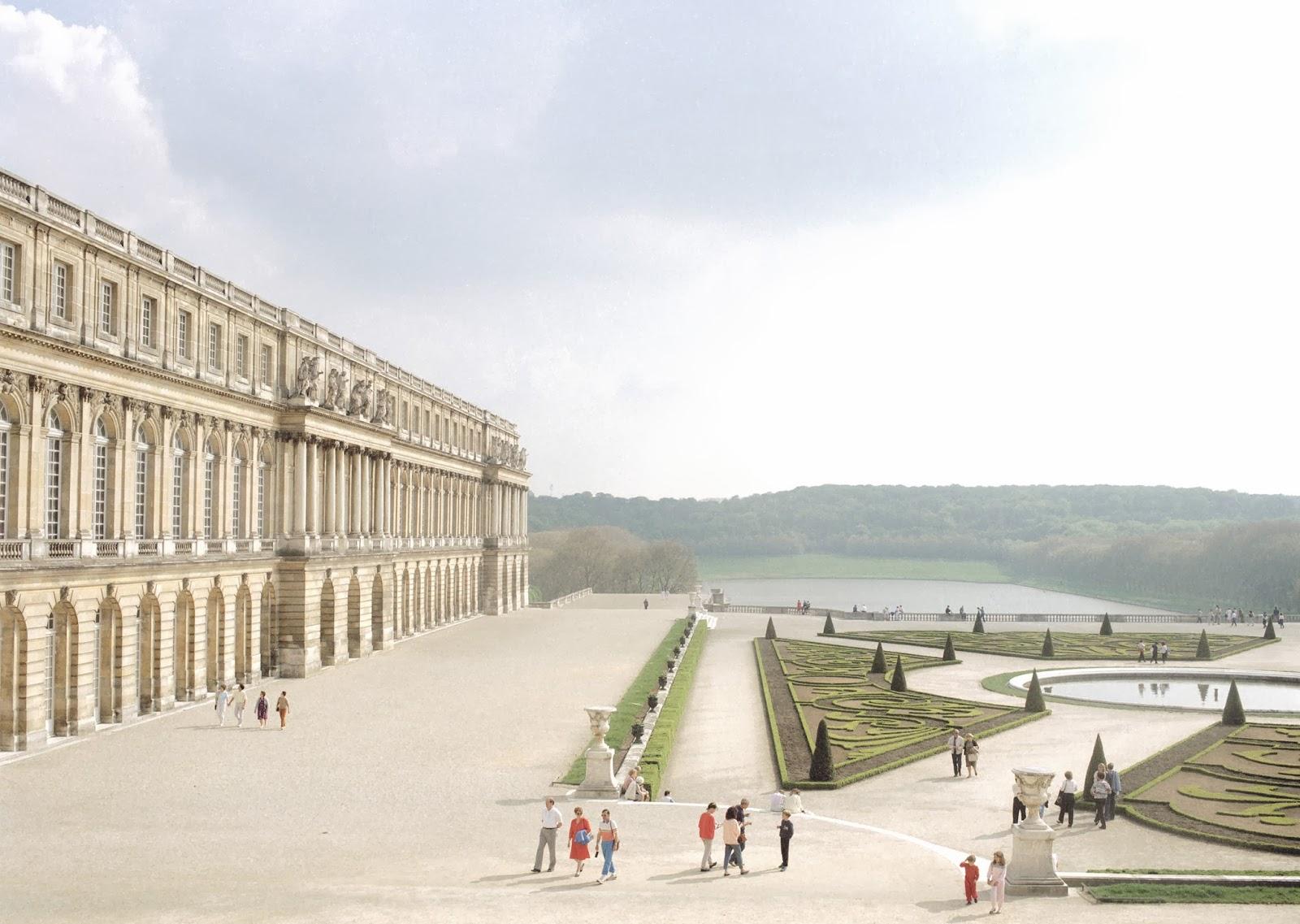 Palácio de Versalhes na França, 1985, Luigi Ghirri