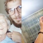 Retratos de família: o neto e a avó