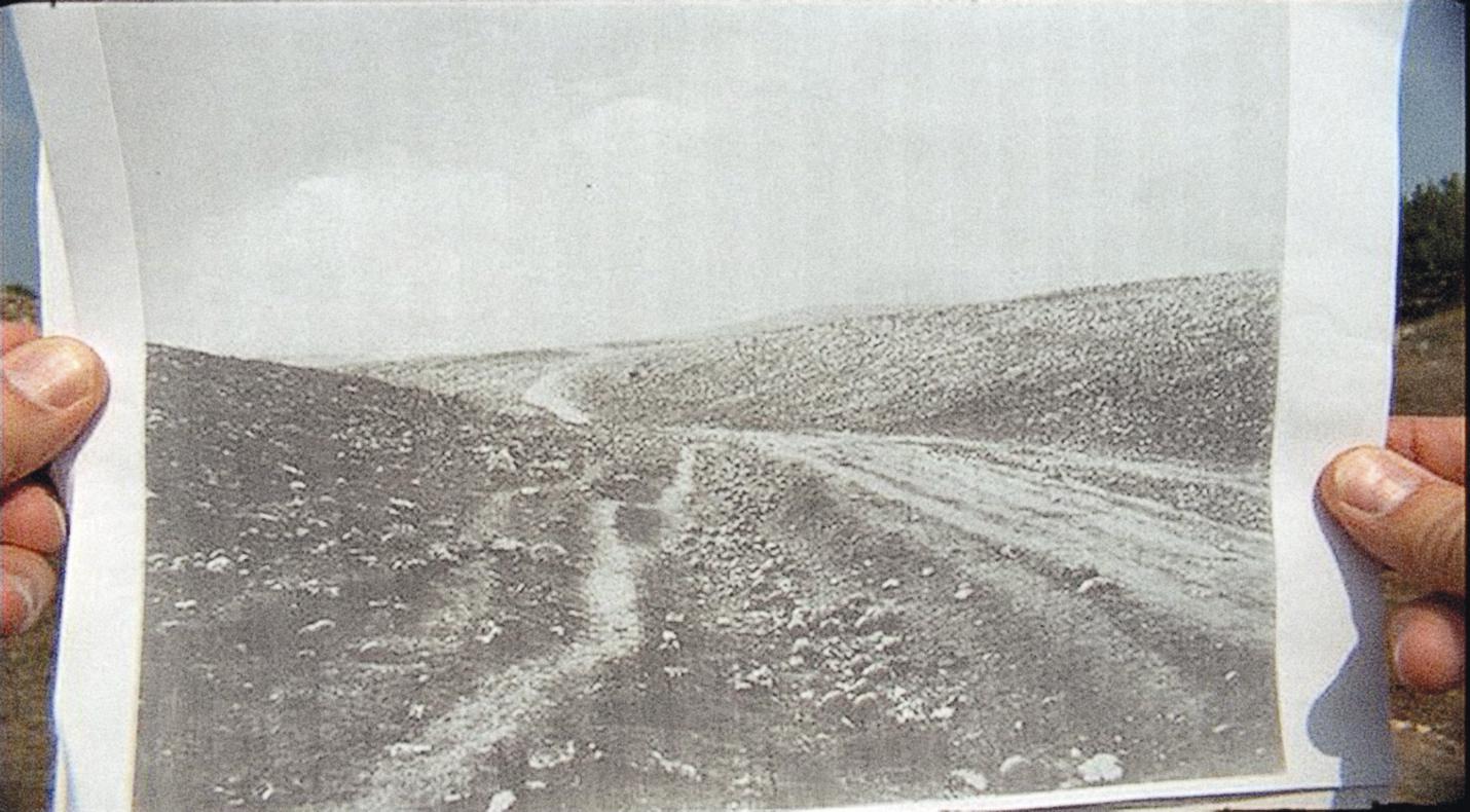 Ampliação do fotograma de um filme de 16mm gravado por Bob Chappell