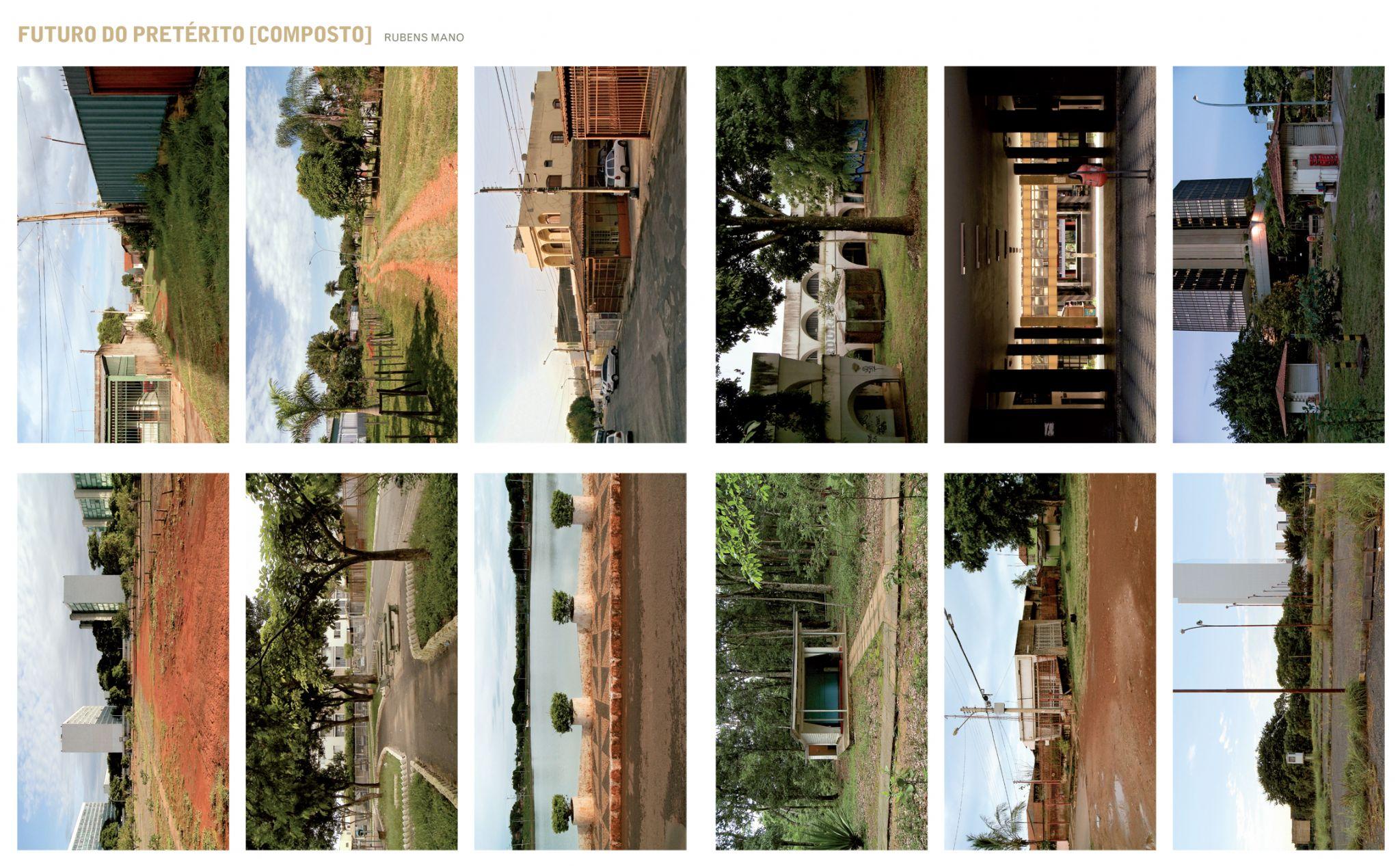 O paulistano Rubens Mano apresenta uma coleção de 60 fotografias extraídas de seus vídeos de Brasília. Neste álbum fotográfico, a capital do país é vista de forma pouco comum, em que planejamento e informalidade embaralham a rígida separação entre plano piloto e cidades-satélites.