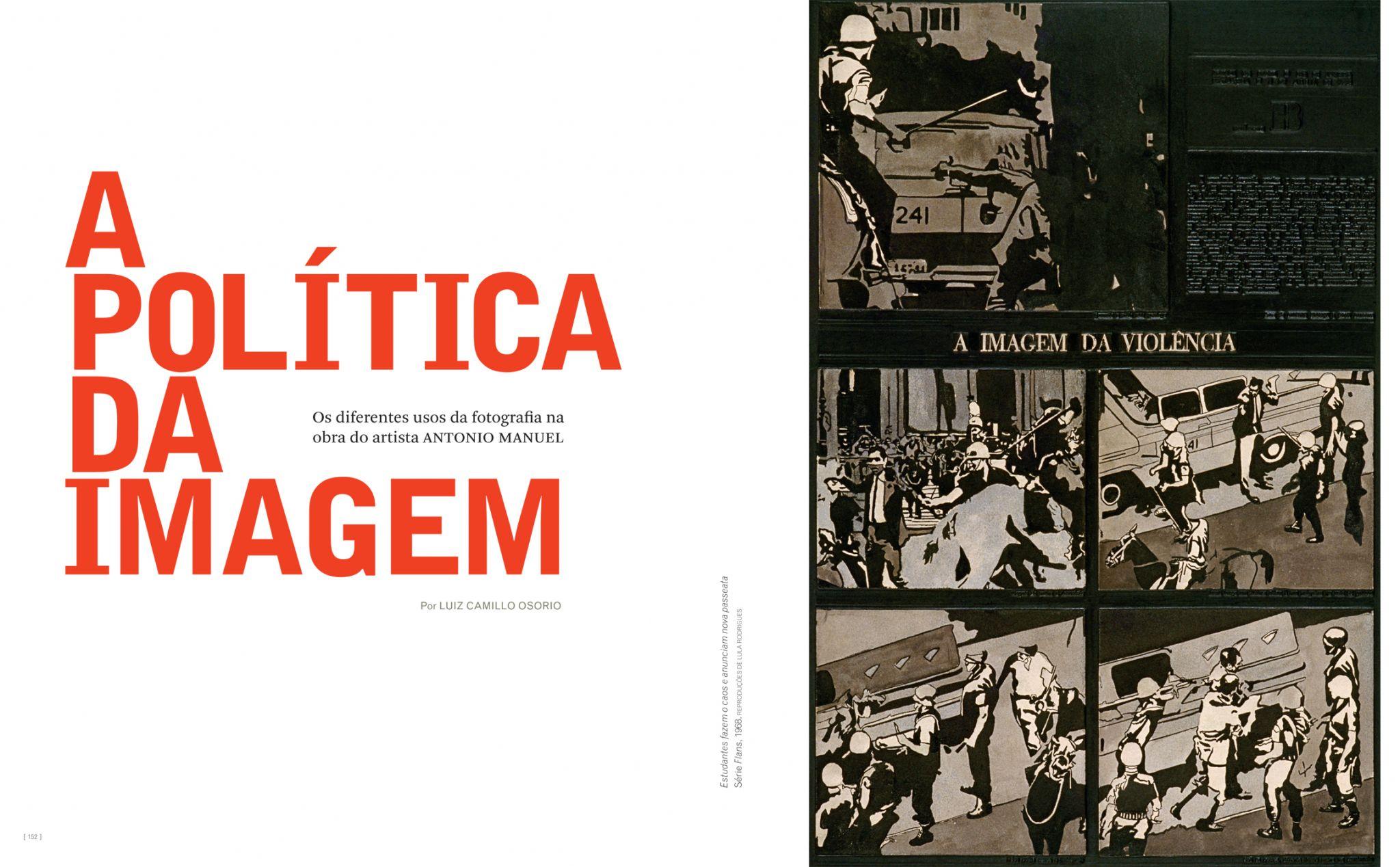 No ano em que o golpe militar completa 50 anos, a ZUM resgata o trabalho de Antonio Manuel, que se valeu da imagem fotográfica e de intervenções na imprensa para amplificar sua voz crítica e artística.