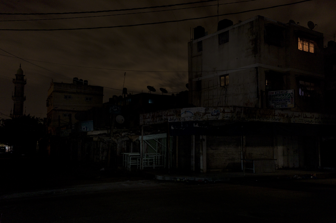 Gaza Black Out, 2013, Gianluca Panella