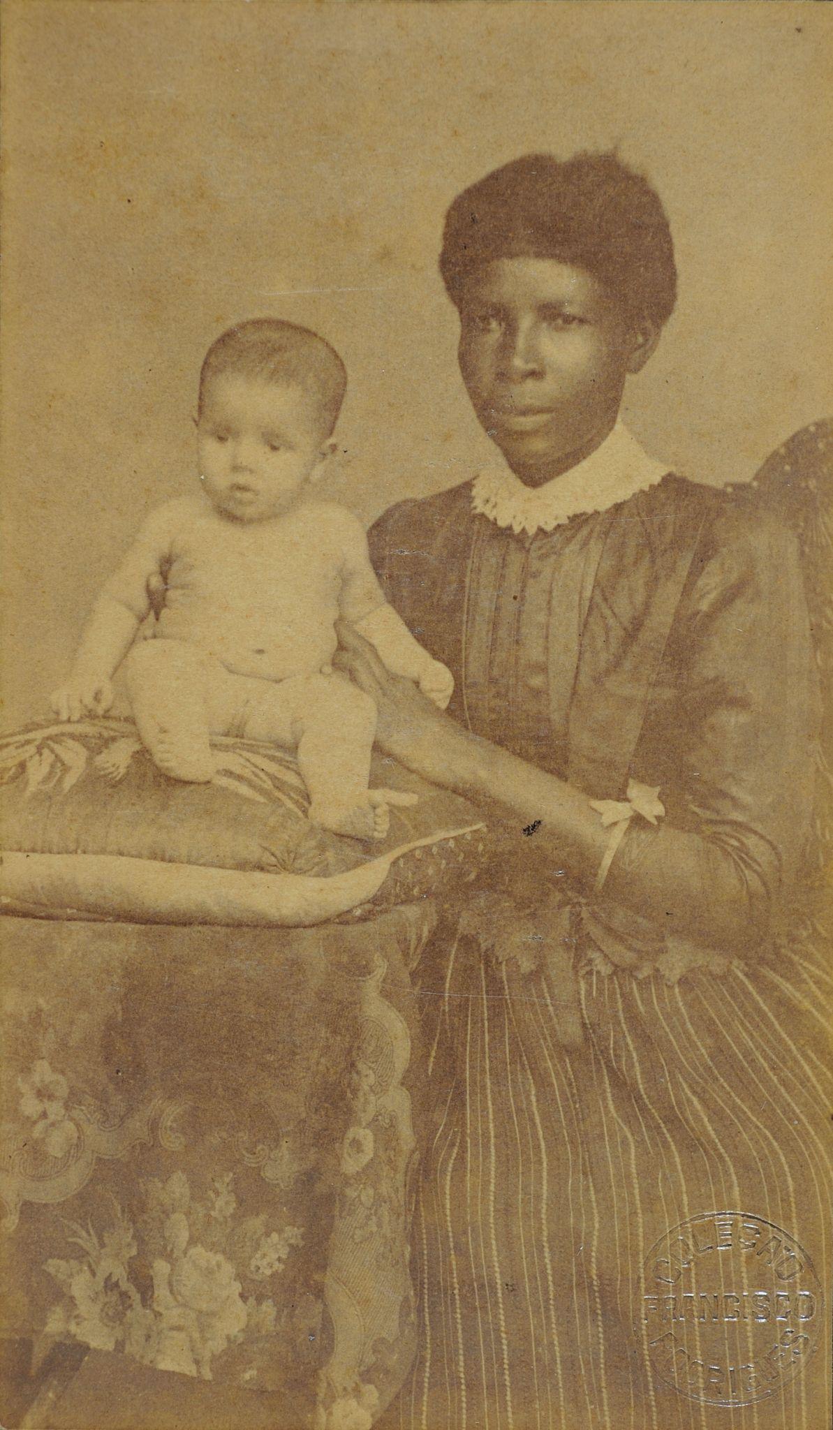Ama de leite com criança, c. 1880, Frederico Ramos