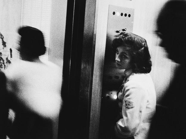 Elevator - Miami Beach, 1955, Robert Frank