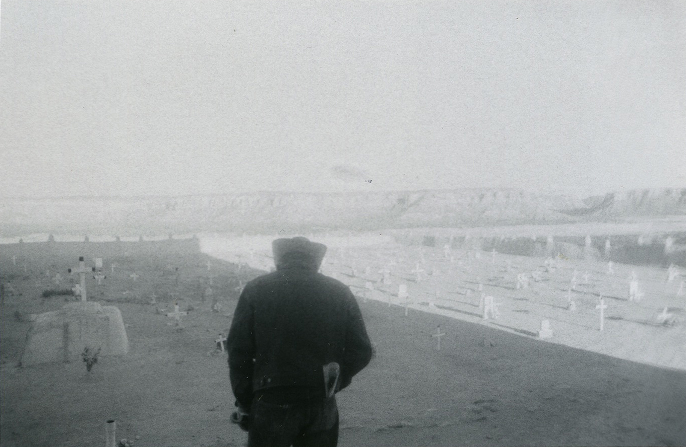 Sem título (cauboi em cemitério), c. 1969-1973