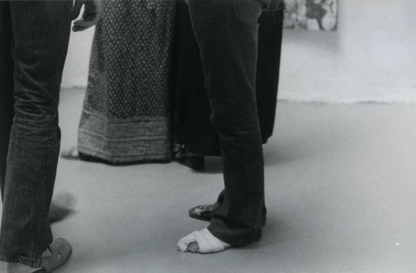 Sem título (pé enfaixado), c. 1969-1973