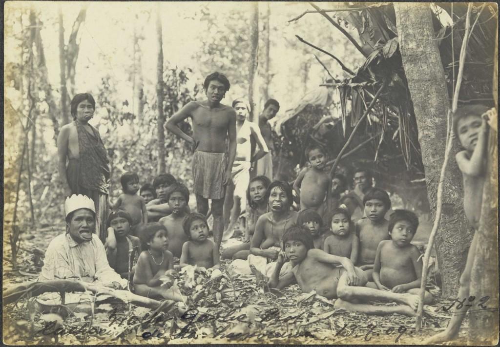 Walter Garbe, Homens, mulheres e criancas Krenak, início do século 20