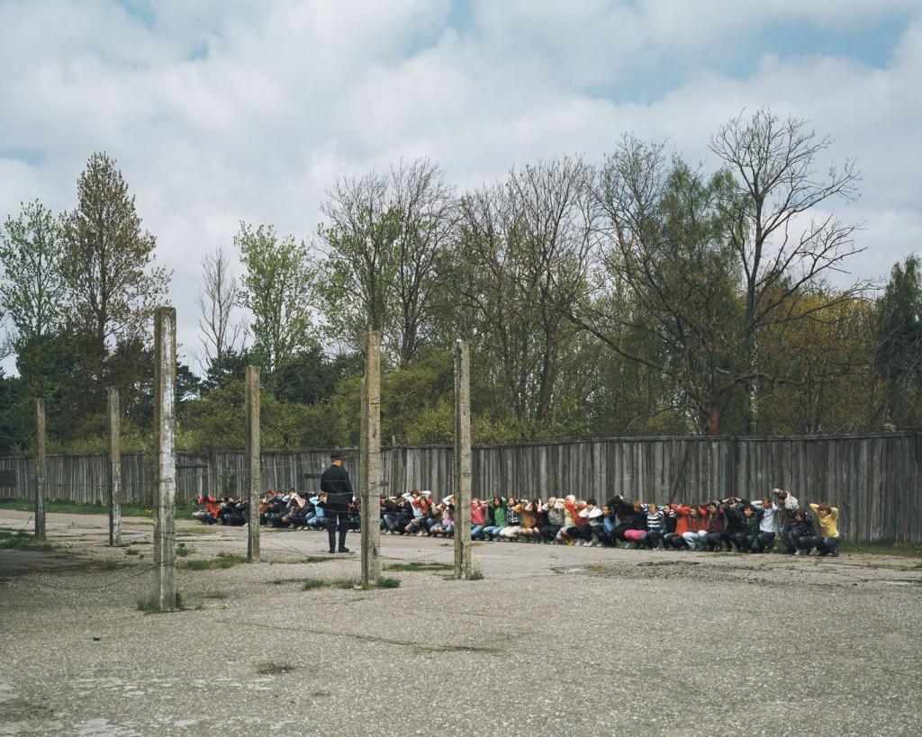 """Ambroise Tézenas, Karostas Cietums (a única prisão militar europeia aberta a turistas), Letônia, da série """"Eu estive aqui/Turismo da desolação""""."""