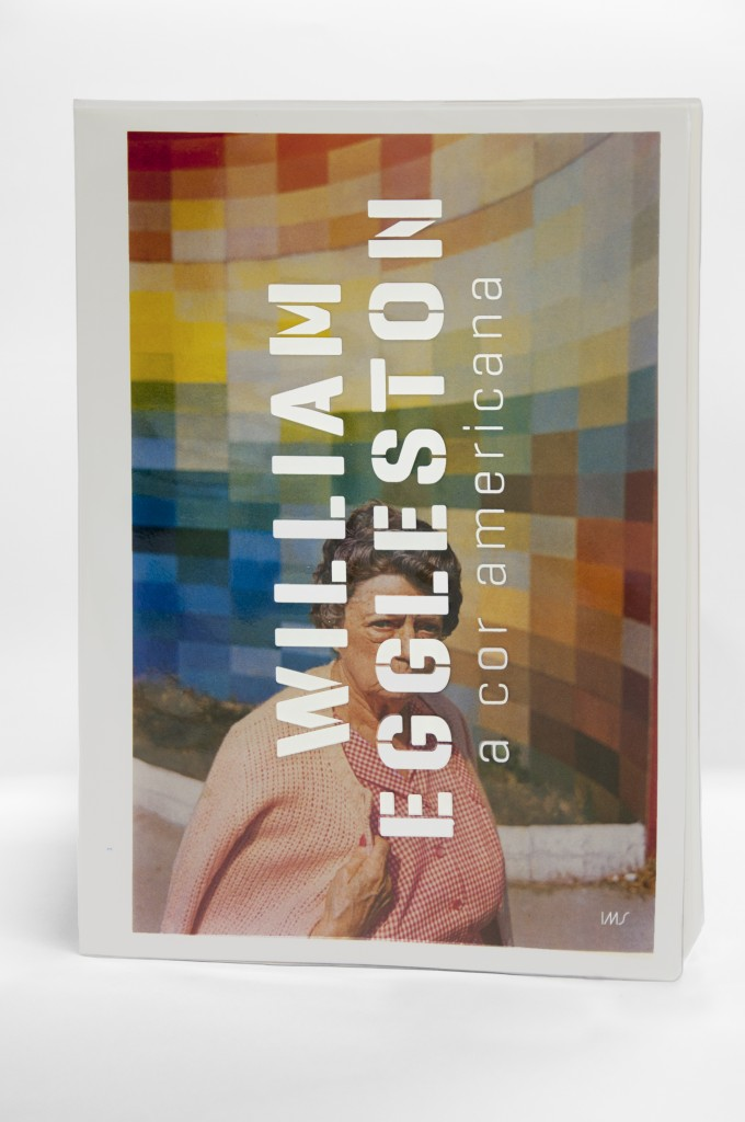 "catálogo ""William Eggleston, a cor americana"""