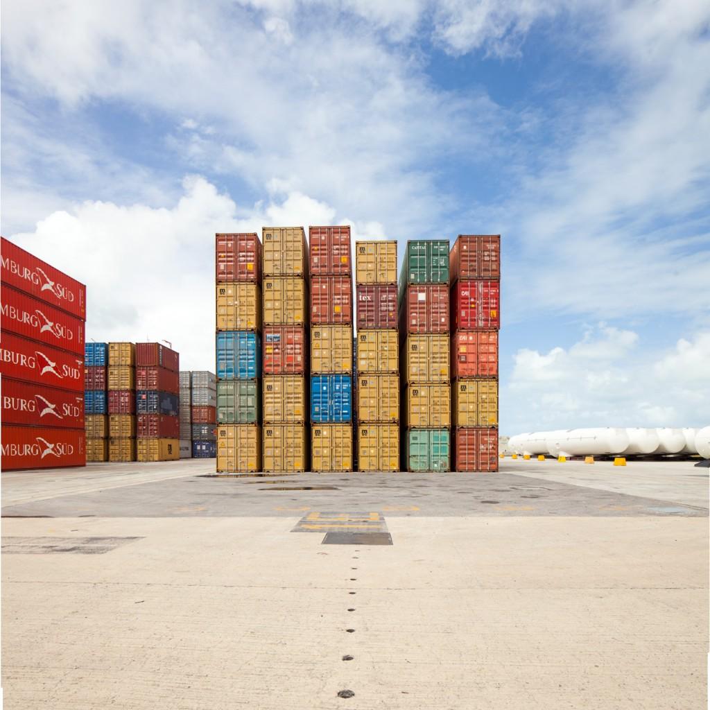 Terminal de containers, Porto de Suape/PE