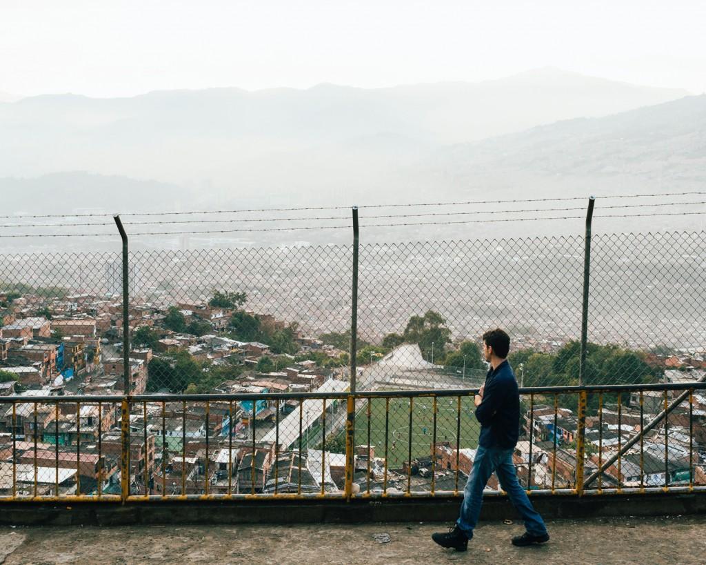 Bairro de Granizal, Medellín, Colômbia © Trëma