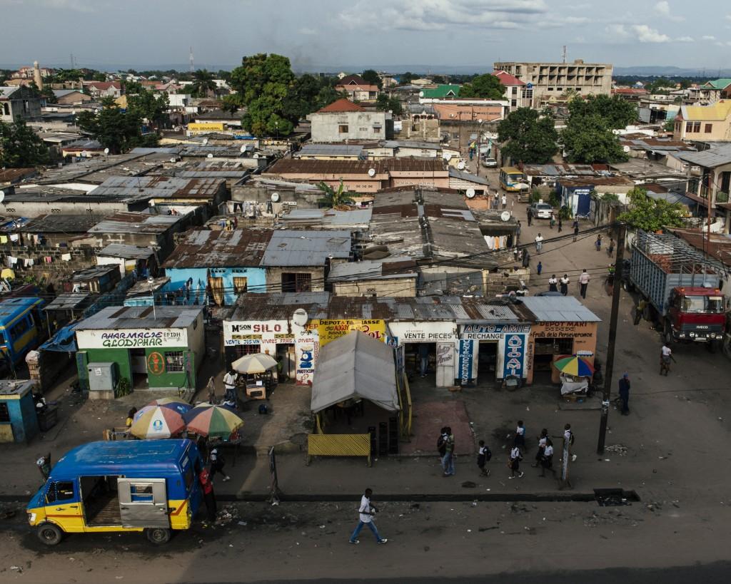 Bairro do Matété, Kinshasa, República Democrática do Congo. © Trëma