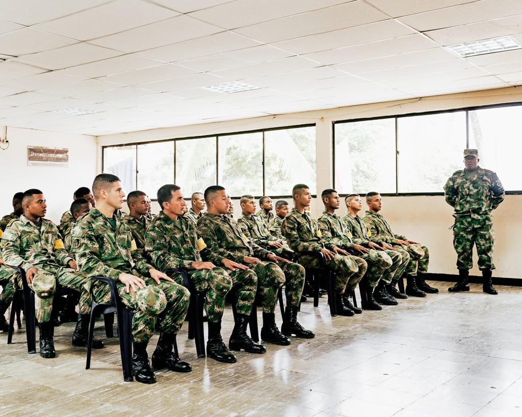 Base militar em Carepa, Colômbia. © Trëma