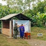 Diário de viagem #3: uma guerra teatral em Carepa, Colômbia