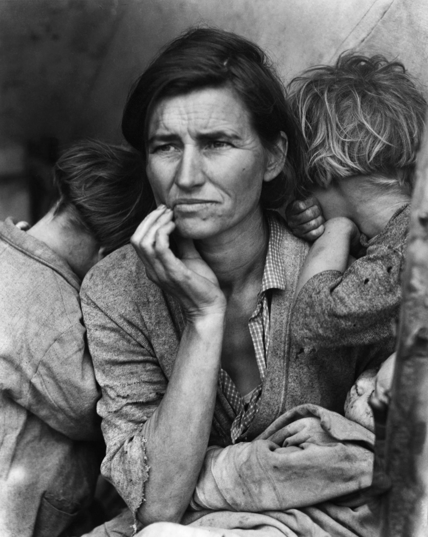 "Dorothea Lange, ""Mãe migrante"", Califórnia, 1936. © Library of Congress/Getty Images"