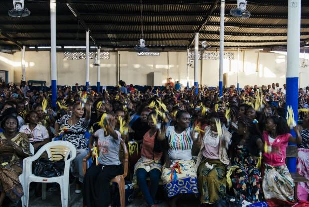 Igreja Palavra do Senhor, Kinshasa, República Democrática do Congo. © Trëma
