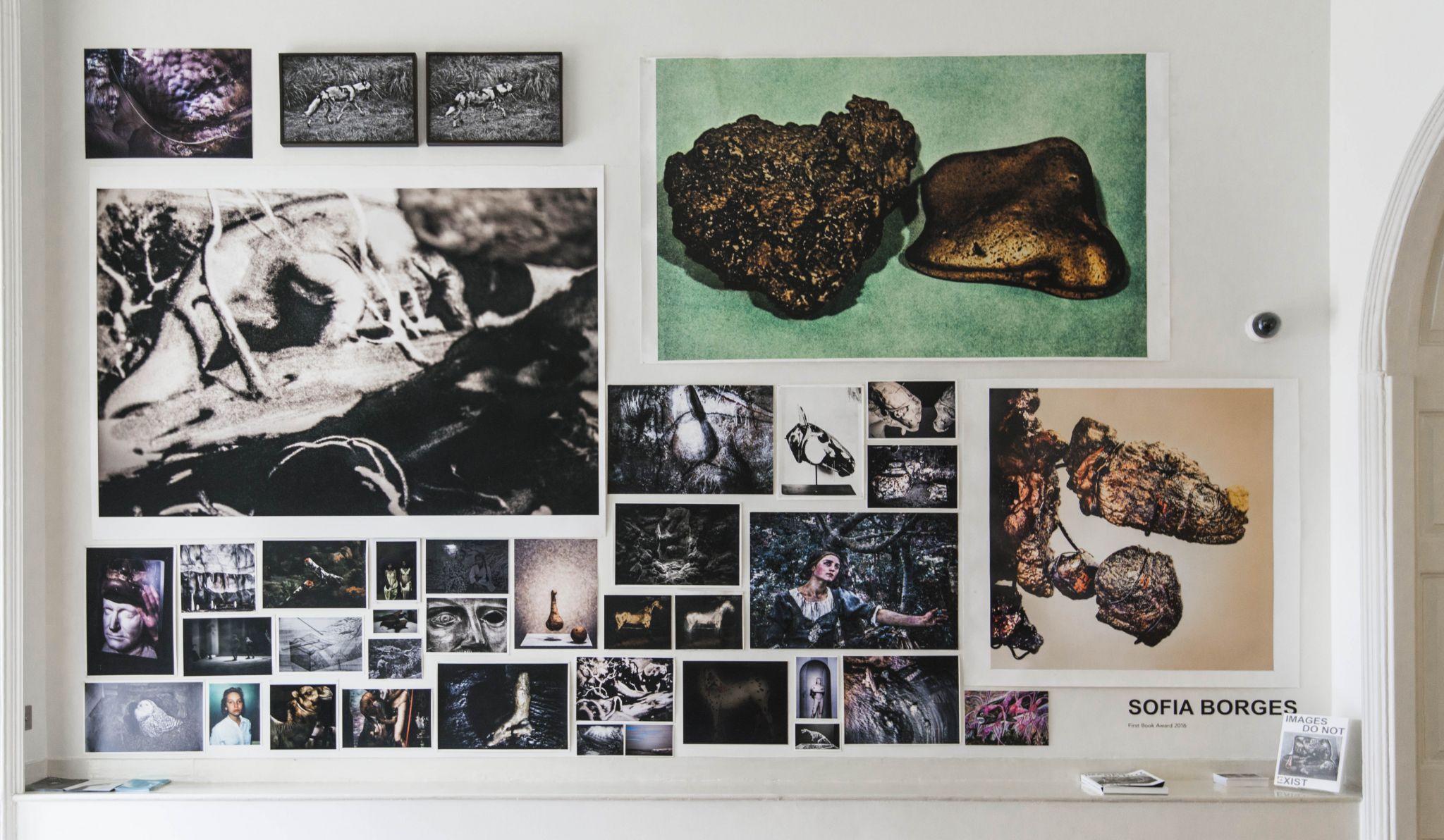 A exposição do trabalho de Sofia Borges na Feira de Fotografia de Londres.
