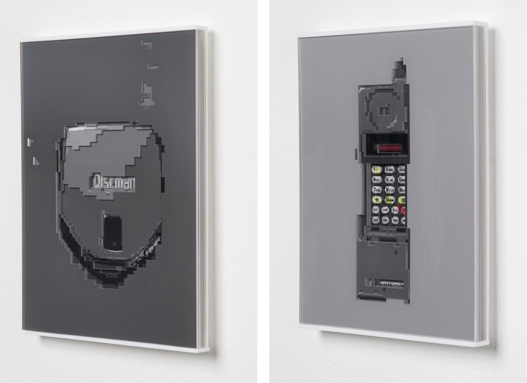 """""""Lançamento D173"""" e """"Lançamento S5841A"""", série """"Lançamentos"""", 2008"""