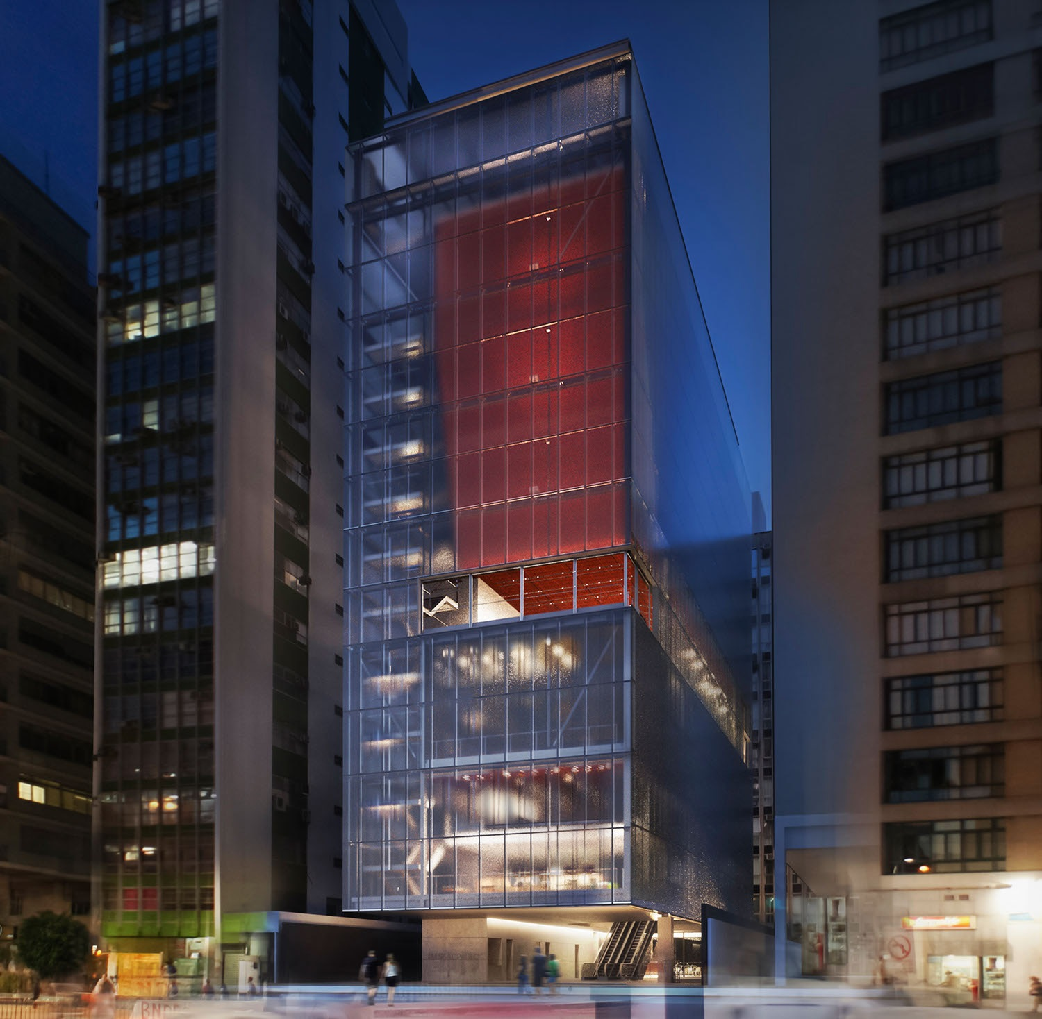 The new IMS Paulista (3D model), which will be open to the public in 2017.