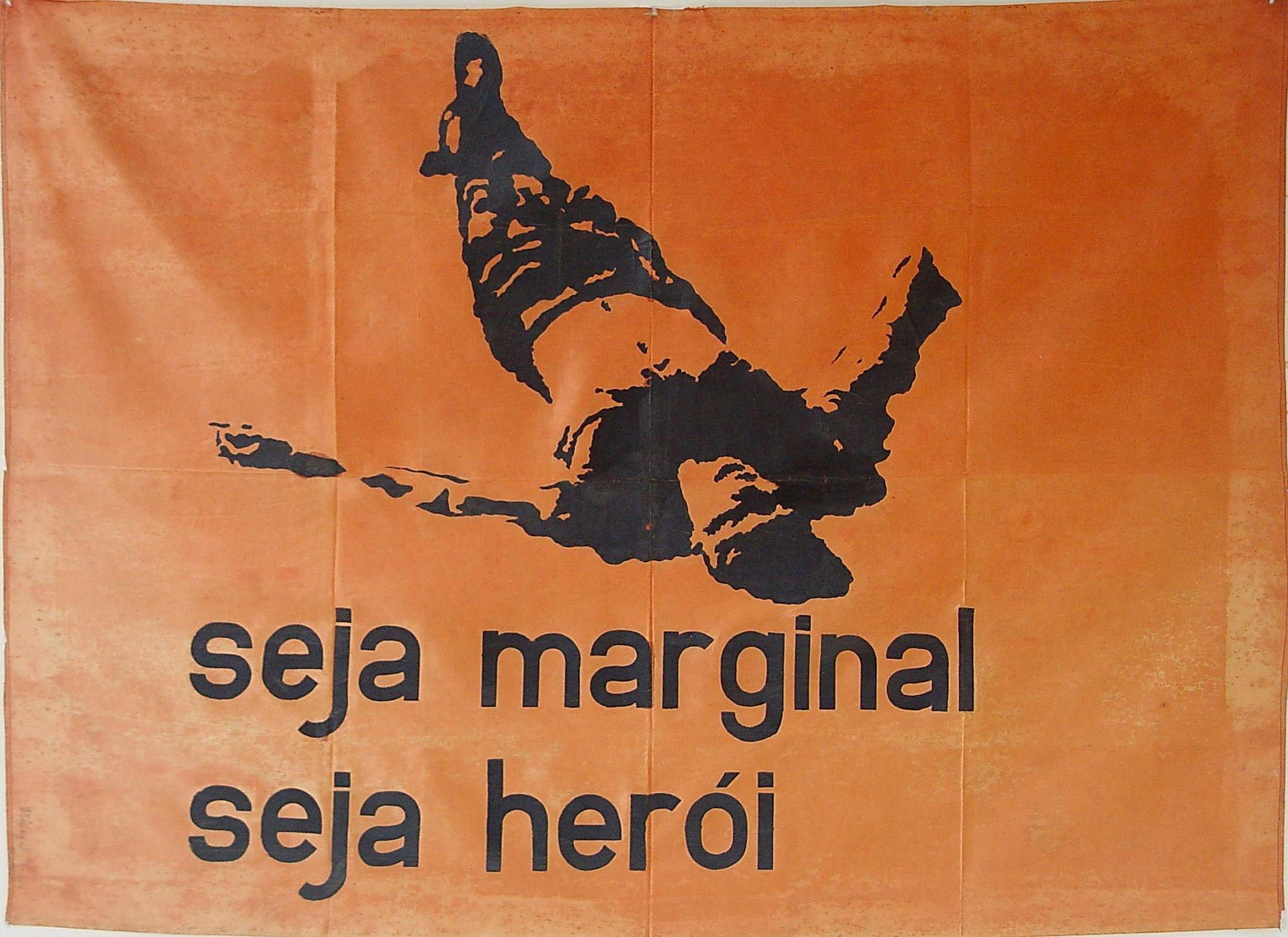 """Hélio Oiticica, """"Bandeira Seja marginal seja herói"""", 1968"""