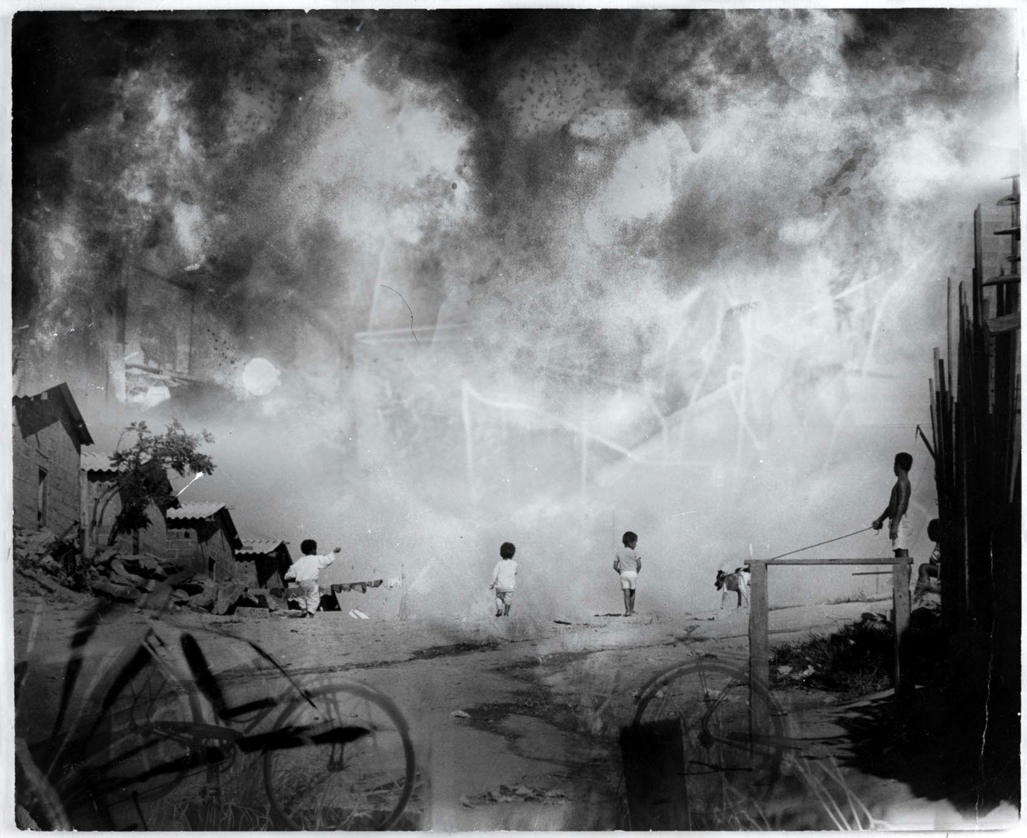 """Eustáquio Neves, da série """"Caos urbano"""", 1993"""