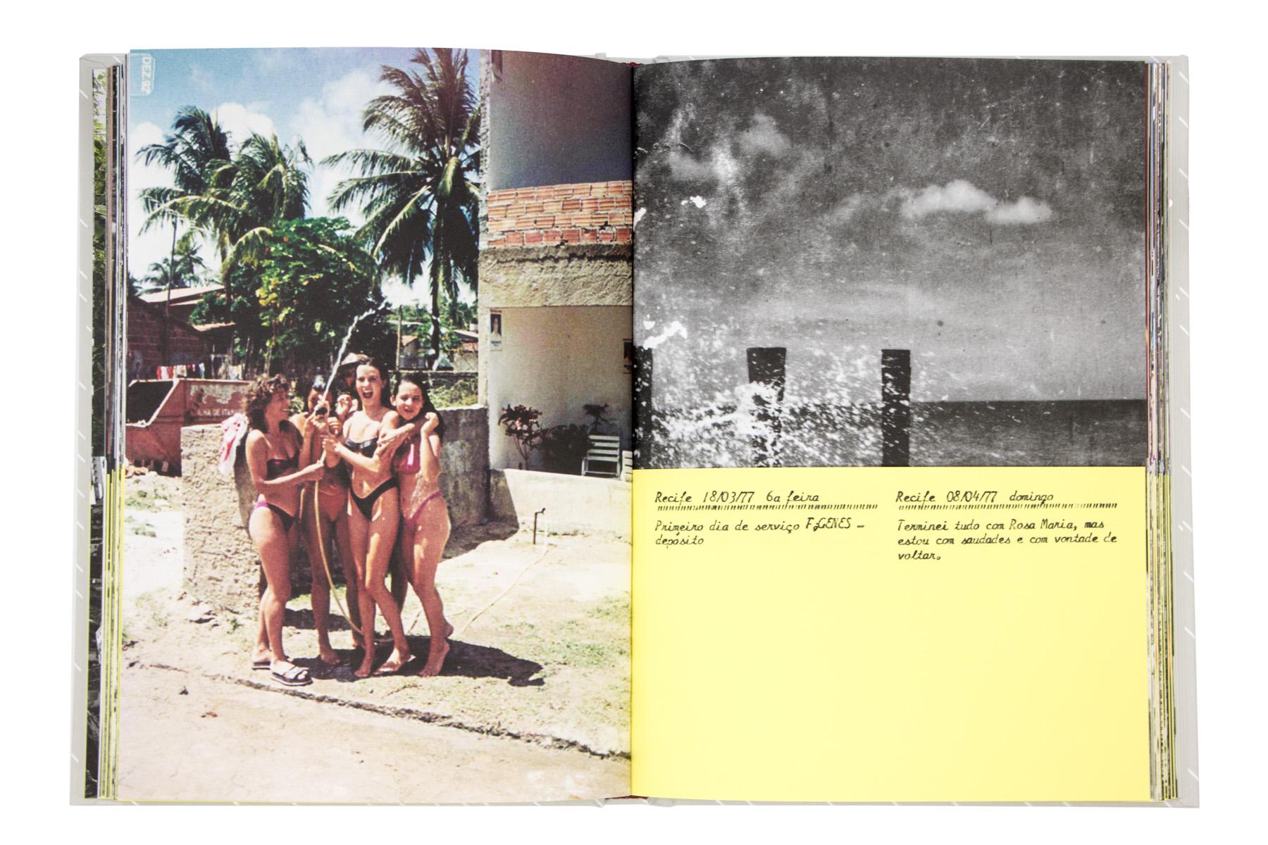 Recife 8/04/77 domingo Terminei tudo com Rosa Maria, mas estou com saudades e vontade de voltar.
