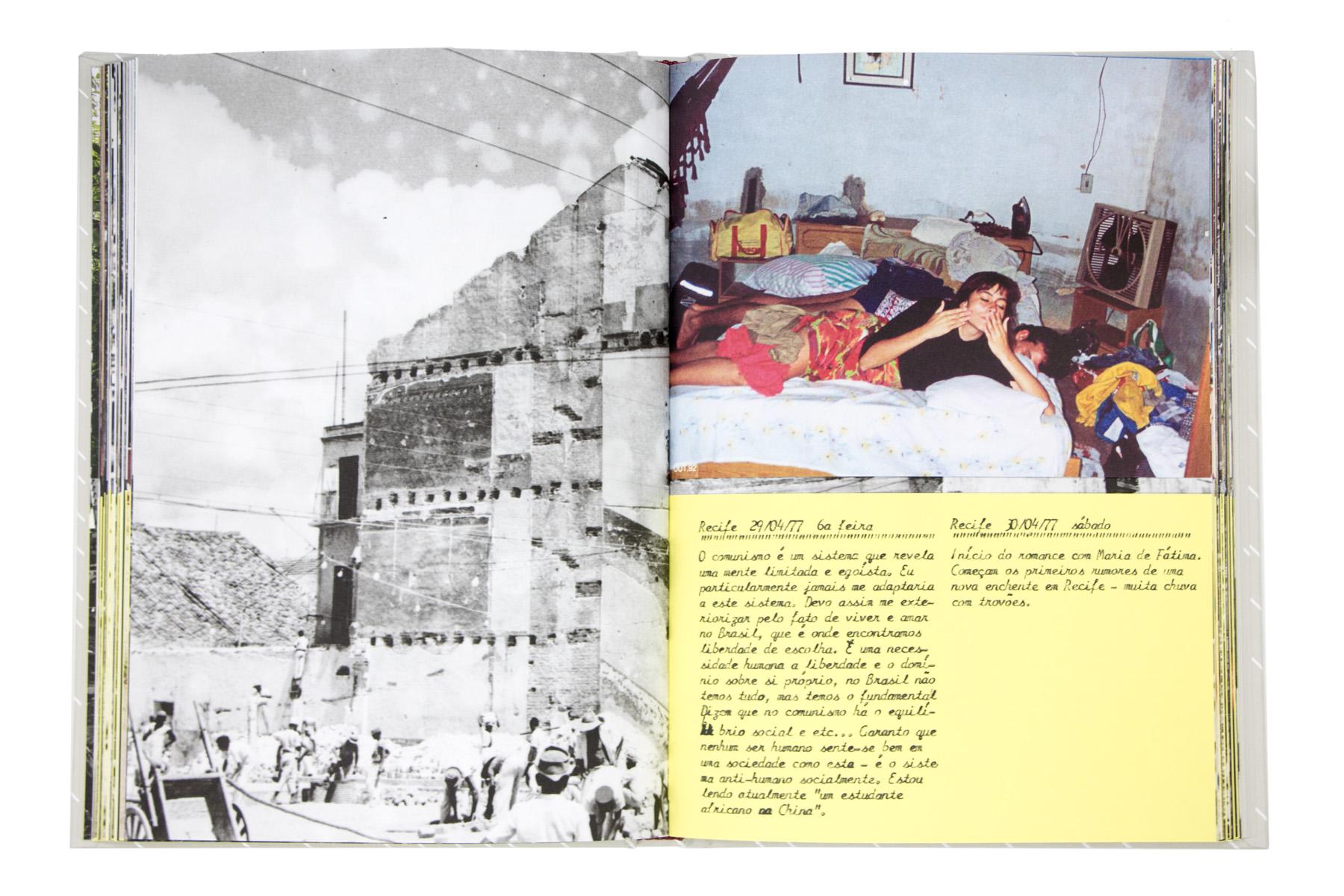 Recife 30/04/77 domingo Início do romance com Maria de Fátima. Começam os primeiros rumores de uma nova enchente em Recife – muita chuva com trovões.