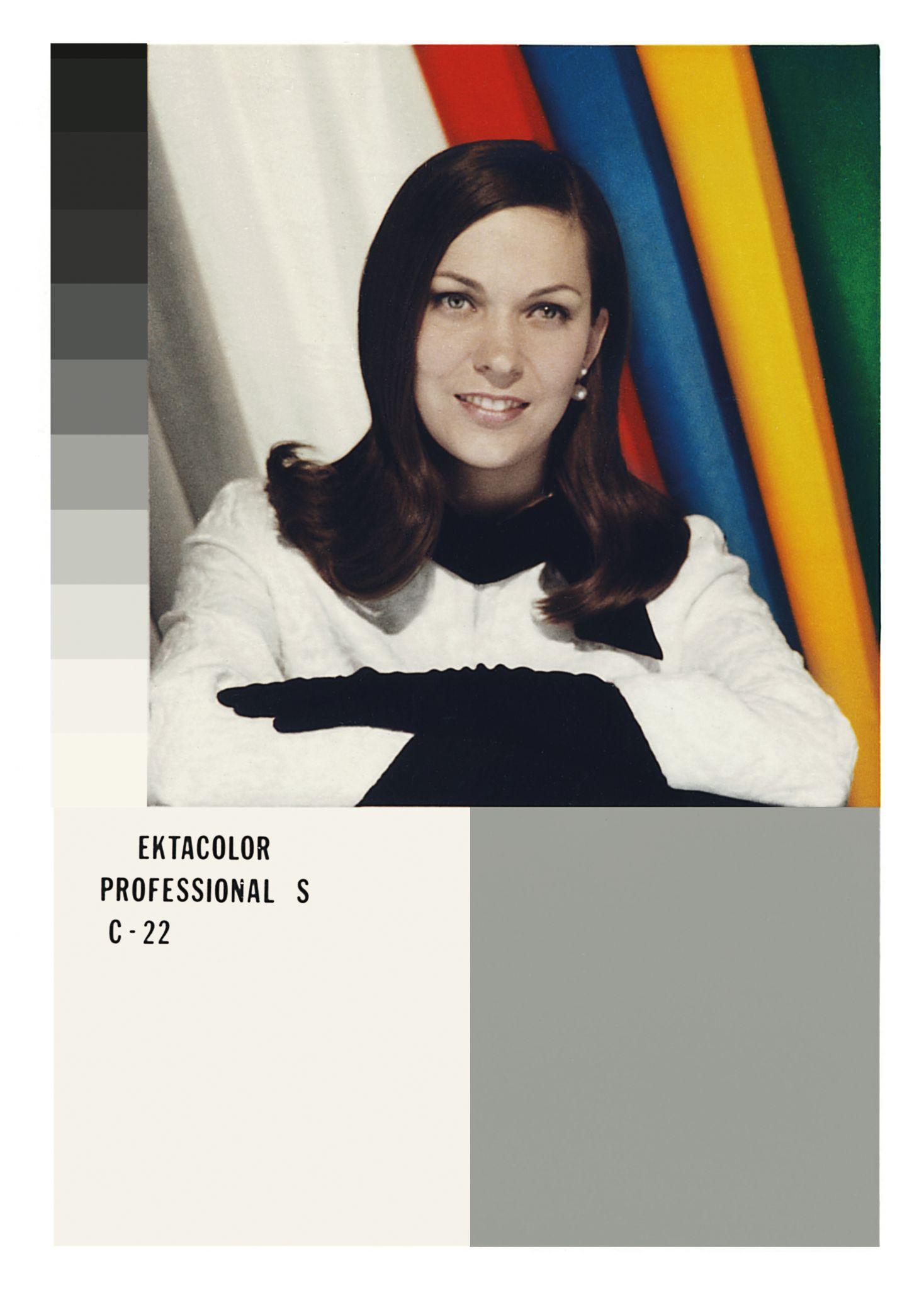 Shirley card, pesquisa de Lorna Roth - Divulgacao FESTIVAL ZUM