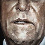Gestos e rostos no Congresso Nacional em obra da artista Sofia Borges