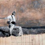 Artista Dora Longo Bahia se apropria de fotografias icônicas para tratar dos horrores da guerra